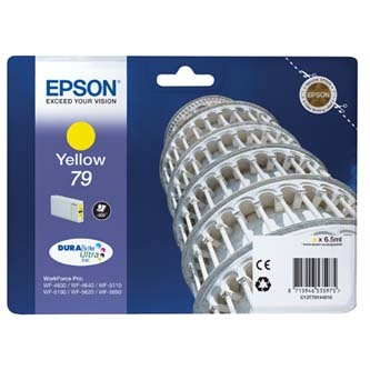 Epson originální ink C13T79144010, 79, L, yellow, 800str., 7ml, 1ks