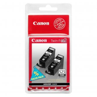 Canon originální ink PGI525PGBK Twin Pack, black, 2x19ml, 4529B010, 4529B006