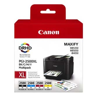 Canon originální ink PGI-2500XL Bk/C/M/Y multipack, black/color, 9254B004