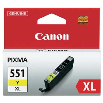 Canon originální ink CLI551Y XL, yellow, 11ml, 6446B001, high capacity