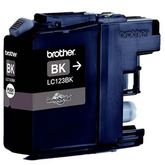 Brother originální ink LC-123BK, black, 600str.