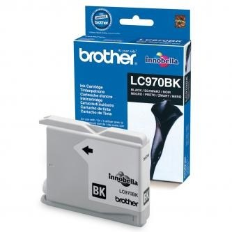 Brother originální ink LC-970BK, black, 350str.