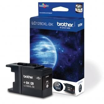 Brother originální ink LC-1280XLBK, black, 2400str., high capacity